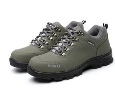 bc9dff19d54 Boots Construction Work Shoes Men Footwear Rubber Ankle Boots. Steel Toe ...