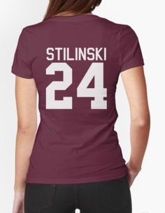 Stiles Stilinski's Jersey - white text Beacon Hills Lacross Unisex Adult T-Shirt Tee Shirt