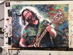 3 Arts, Grateful Dead, Gd, My Eyes, Musicians, Street Art, Vibrant Colors, Rocks, Instruments