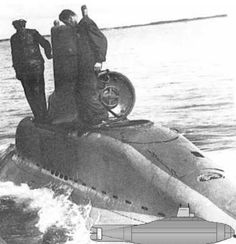 German midget submarine V -80, wwll