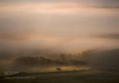 Down in the Valley... by flubwubs Another shot from a very atmospheric dawn at the weekend. This was about an hour after sunrise as the warmth from the sun caused a slight breeze to pick up and get the mists rolling. I spent quite a while sat on a hill top watching as the landscape was revealed in patches of light and then swallowed again....