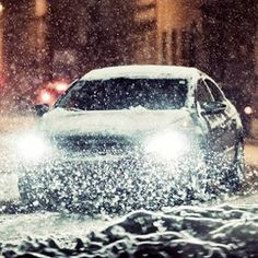 """Stay safe while traveling in cold and snowy weather with these winter driving tips and AAA's downloadable brochure -""""How To Go on Ice and Snow."""""""