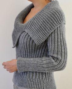 0ed41f78858eb Women Sweater Cardigan Hand Knit Gray Grey Silver