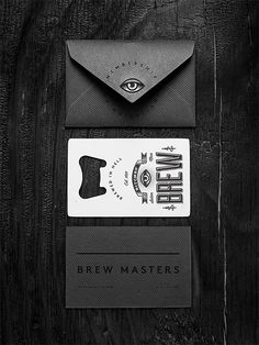 black on black!   Bitches Brew by Wedge & Lever