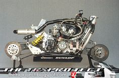 "TRXプロジェクト。 ヤマハTRX 850ブログ:私のお気に入りのバイク。 「ELFE ""ホンダ。"