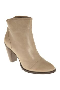 Taupe Leather, Django & Juliette Boots