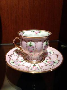 Tea Pot Set, Tea Sets, Antique Tea Cups, Vintage Teacups, Turkish Coffee Cups, Pink Cups, Teapots And Cups, China Tea Cups, Tea Cup Saucer
