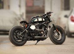 "Custom Bobber ""Nadia"" Harley-Davidson XL 883 by Tushar Jaitly"