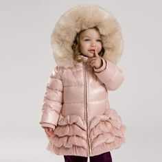 3 Colors Girls Winter White Duck Down Padded Coat Baby Winter, Winter Wear, Winter White, Kids Winter Jackets, Feather Coat, Duck Down Jacket, White Ducks, Princess Style, Down Parka