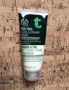 The Body Shop TBS. Review Tea Tree Cool & Creamy Wash.