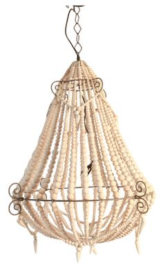 Beaded White Chandelier Large @Weylandts Ethnic Bedroom, African Furniture, Weylandts, Simply Home, White Chandelier, I Love Lamp, Beach Cottages, Ceiling Lights, Lighting