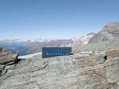 the tracuit mountain hut (altitude 3256 metres) belongs to the chaussy section of the swiss alpine club and is situated in the val d'anniviers, in. Tower Stand, Hotels, Beautiful Architecture, Modern Architecture, Berg, Design Projects, Tourism, Building, Tree Houses