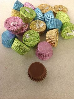 Reese's Peanut Butter Cups Easter Foil 5 pounds foil wrapped/...Bought this for Ross & Lora for EASTER!
