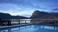 Outdoor Pool at  Sonora Resort Canada #travel