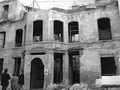 Este era el aspecto del palacio, sede del museo, antes de la rehabilitación