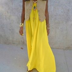 Adorable stylish summer Vibrant maxi dress for ladies... click on picture for more fashions