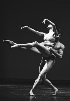 "Petra Conti and Eris Nezha, ""L'Altro Casanova"", Boston Ballet (choreography by Gianluca Schiavoni) 