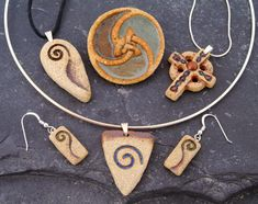 Michelle Butler Ceramic Celtic Jewellery