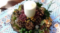 Jana Melas Pullmannová: Jesenný svietnik Cabbage, Vegetables, Breakfast, Youtube, Food, Creative, Morning Coffee, Meal, Essen