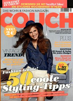 COUCH Ausgabe 04/2013 Budget, Couch, Settee, Sofas, Sofa, Couches, Daybed