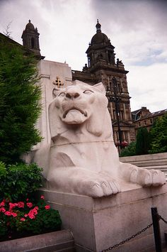 George Square, Glasgow Scotland