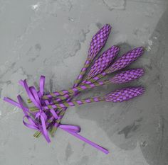 Lavender Wands  Purple Medium by Pedricks on Etsy