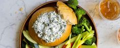 Hosting a party? Be sure to try Hidden Valley& Original Ranch® Spinach Dip, guaranteed to impress all of your guests. Appetizer Dips, Appetizer Recipes, Dinner Recipes, Fun Appetizers, Dip Recipes, Casserole Recipes, Recipies, Quesadilla Recipes, Cajun Recipes