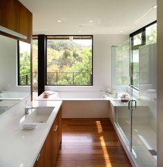 Hollywood Hybrid - modern - bathroom - los angeles - Marmol Radziner