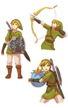 Minority Container ゼルダの伝説 - Link from Zelda: Skyward Sword