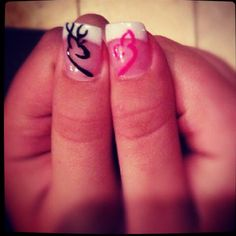 Browning Nails #buckdoe #camo This is what i'm getting when I go to get my nails done.