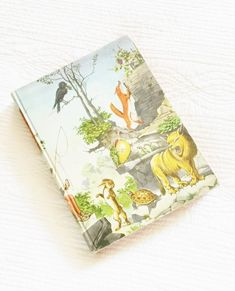 "Vintage ""Aesop's Fables"", 1947 Publication, Olives and Doves"
