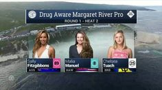 2016 Drug Aware Margaret River Pro (W): Round 1, Heat 2 Video