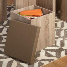 Contemporary 5-Piece Dining Set Stylish Kitchen Furniture Laminated Taupe Vinyl