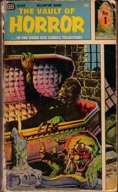 The Vault of Horror comics