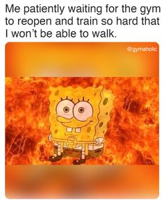 We inspire you to become the best version of yourself, physically and mentally Try our free Gymaholic Fitness Workouts App. Really Funny Memes, Stupid Funny Memes, Funny Relatable Memes, Funny Posts, Funny Troll, Funny Gym, Top Funny, True Memes, Dankest Memes