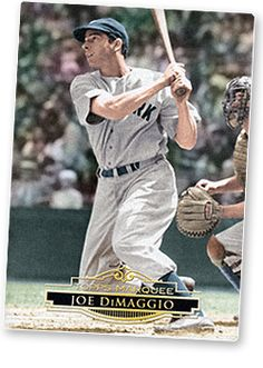 Joe DiMaggio was a famous baseball player for the New York Yankees. Many people believed he was the best baseball player ever recorded. Joe got the worlds attention and showed them how proud they should be to be Americans Famous Baseball Players, Best Baseball Player, Better Baseball, Baseball Records, Baseball Movies, Baseball Bats, Famous Sports, Famous Men, Mlb