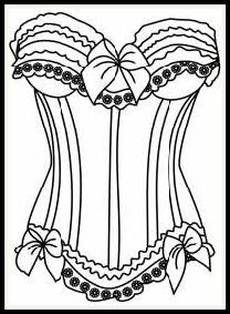 Ausmalbild Brautkleid DRESSES FOR EMBROIDERY Pinterest