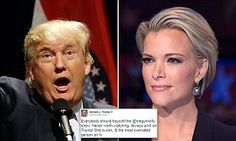 Donald Trump slammed by Fox News for 'vitriolic attacks' on Megyn Kelly | Daily Mail Online Donald Trump's vitriolic attacks against Megyn Kelly and his extreme, sick obsession with her is beneath the dignity of a presidential candidate who wants to occupy the highest office in the land,' a network spokesperson said in a statement.