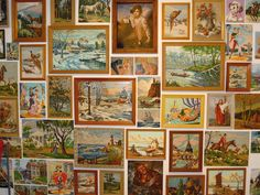 Paint by number collection.