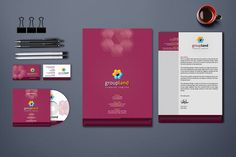 Corporate Stationery Branding Identity ID Pack by ContestDesign