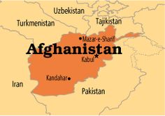 Map Of The Situation In Afghanistan In Late Massoud Red - Afghanistan taliban dostums massouds map
