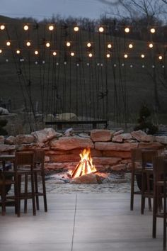 Building a fire pit ... great for cool fall nights! | Living the Country Life | http://www.livingthecountrylife.com/buildings/outdoor-ideas/building-a-fire-pit/