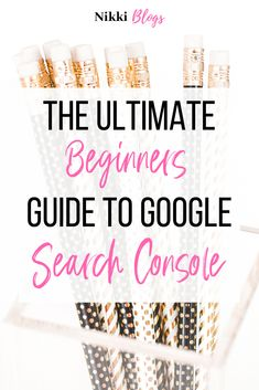 Start growing your blog traffic like a boss when you setup Google Search Console! Did you know that Pinterest has over 250 million active users a month? Amazing, right? But are you also aware that Google receives 3.5 BILLION search queries every single day? That's extra traffic that could be headed your way! Set yourself up for success and use this easy to follow comprehensive guide to get going with one of the internet's most powerful web services. This step-by-step guide will get you there. Make Money Blogging, Make Money Online, How To Make Money, Blogging Ideas, Seo For Beginners, Seo Tips, Business Tips, Online Business, Facebook