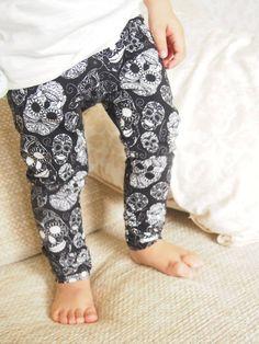 Monoskull Unisex Child And Baby Leggings