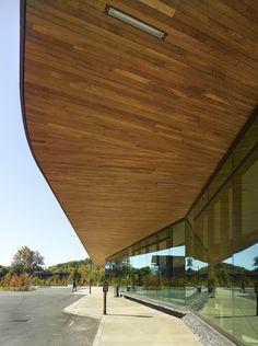 Zero Net Energy Building, John W. Olver Transit Center   Charles Rose Architects
