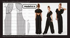 ModelistA: JUMPSUIT  This is much better than the others i've seen. I might actually wear this.