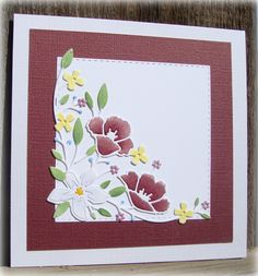 Memory Box Wildflower Corner die