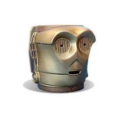 Tazas originales: C-3PO en 3D.