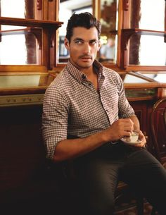 david gandy aal1 David Gandy is Clad in Elegant Styles for Marks & Spencer Fall/Winter 2012 Campaign