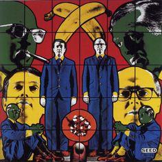 Gilbert & George at Tate Modern Kitsch, Gilbert & George, Religion, Identity Art, Korean Art, Artistic Photography, Photomontage, Famous Artists, Pop Art